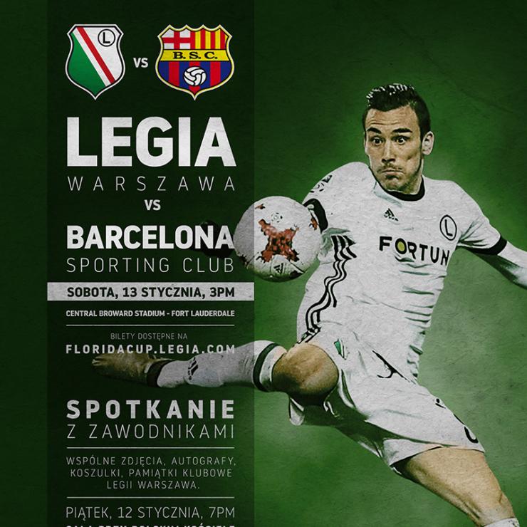 LEGIA DAY – Legia Warszawa-  Mistrz Polski w Fort Lauderdale na Florydzie !